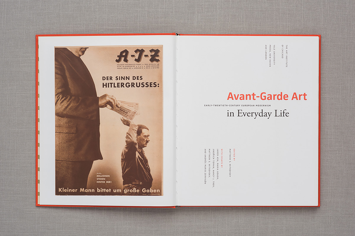 Avant-Garde Art in Everyday Life title page
