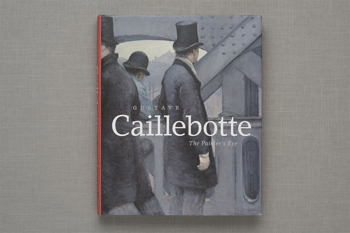 Gustave Caillebotte book cover
