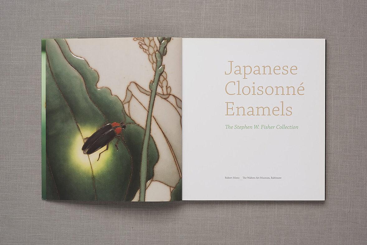 Japanese Cloisonné Enamels title page