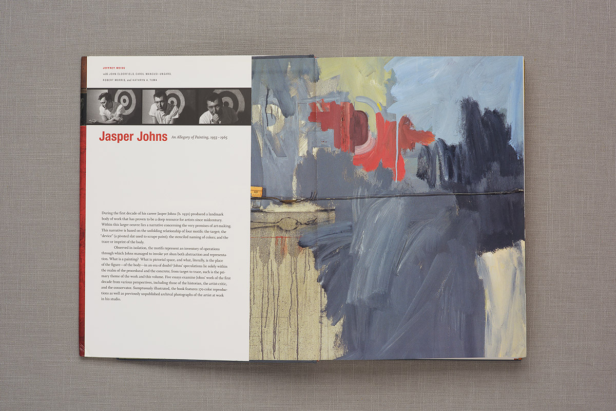 Jasper Johns endpapers