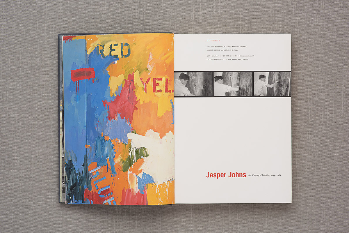 Jasper Johns title page