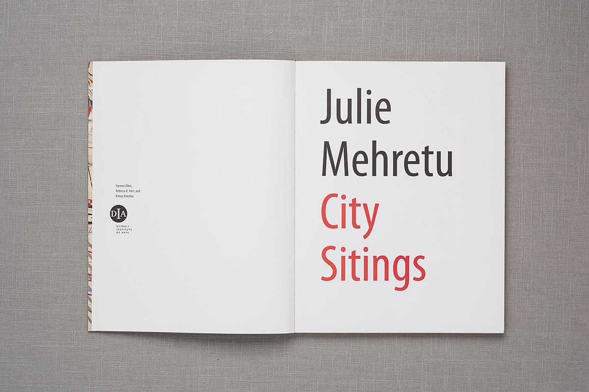 Julie Mehretu City Sitings title page