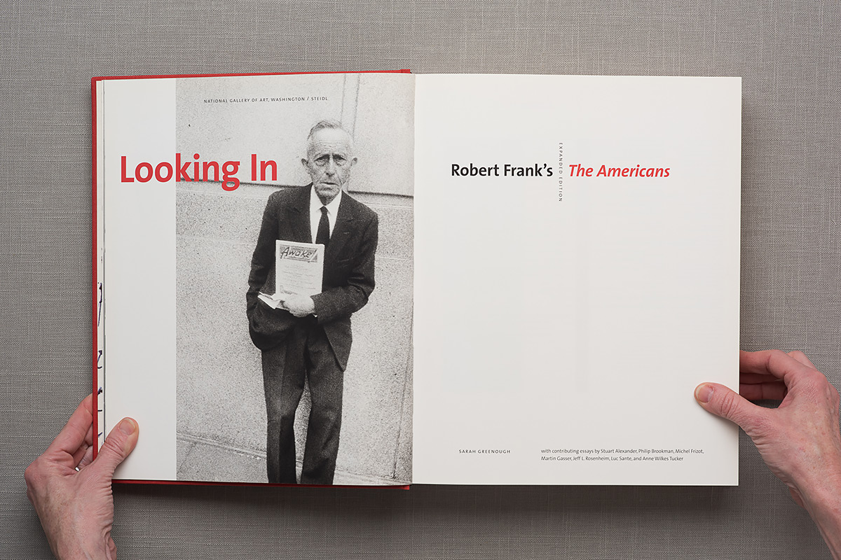 Looking in: Robert Frank title page