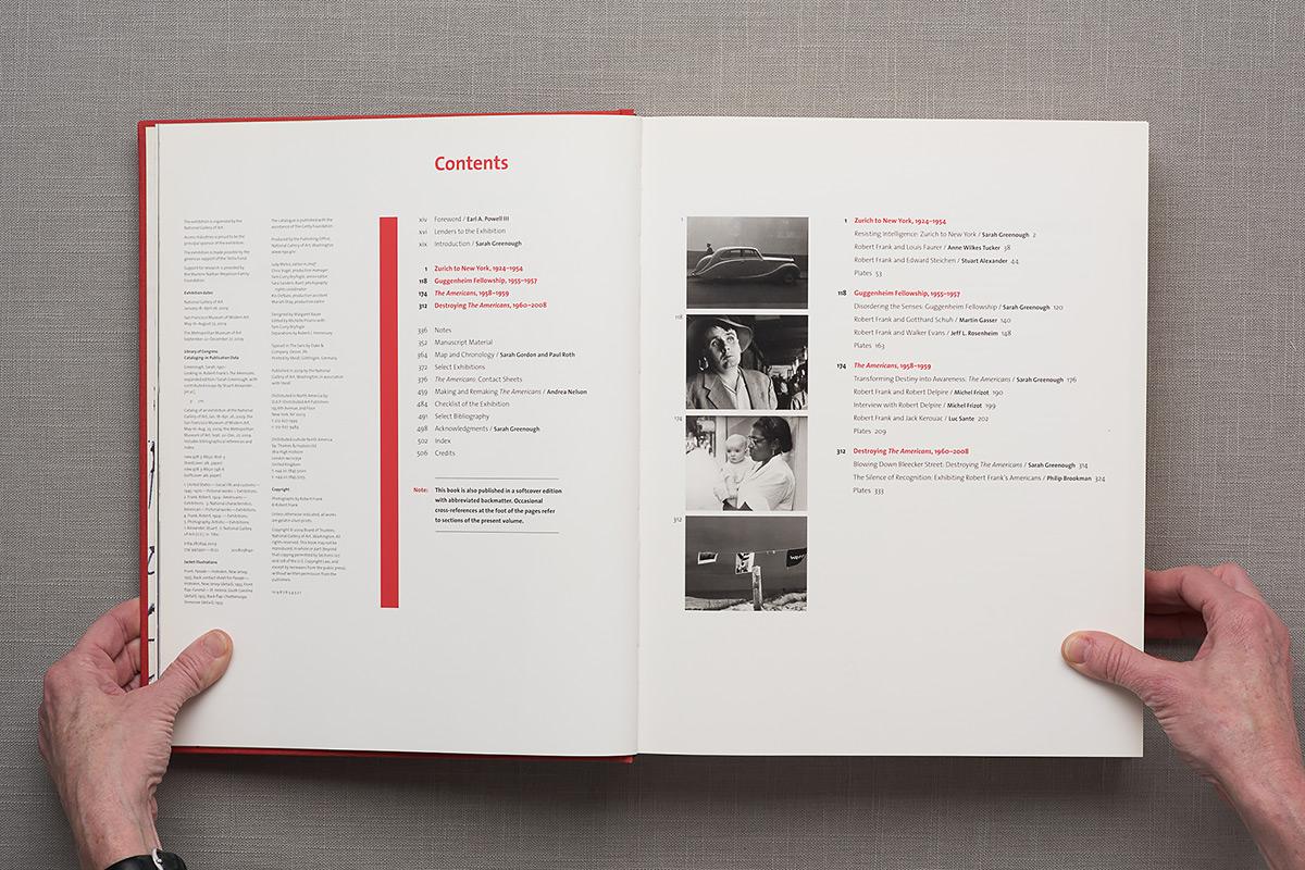 Looking in: Robert Frank contents