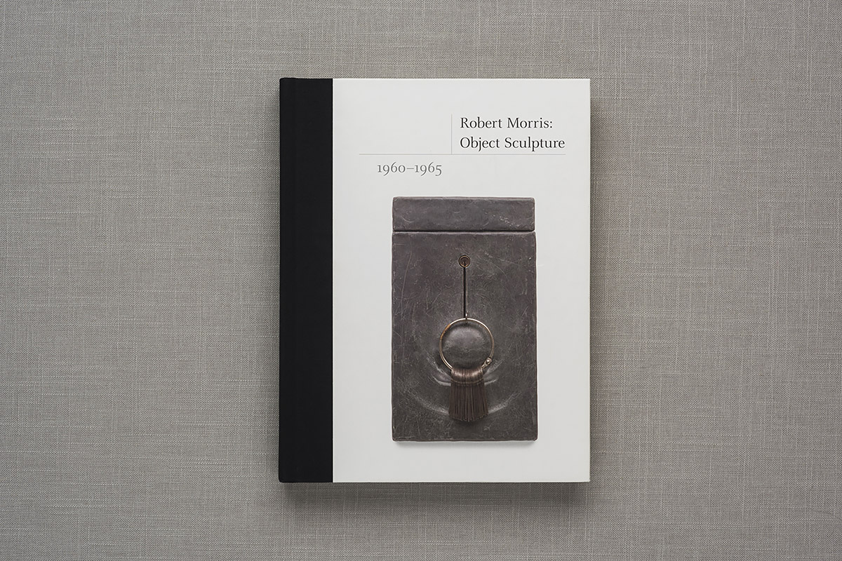 Robert Morris: Object Scupture cover