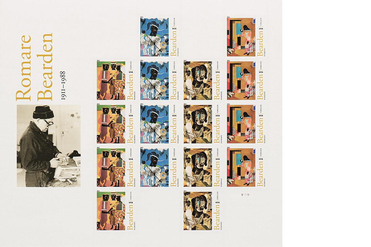 Romare Bearden stamps