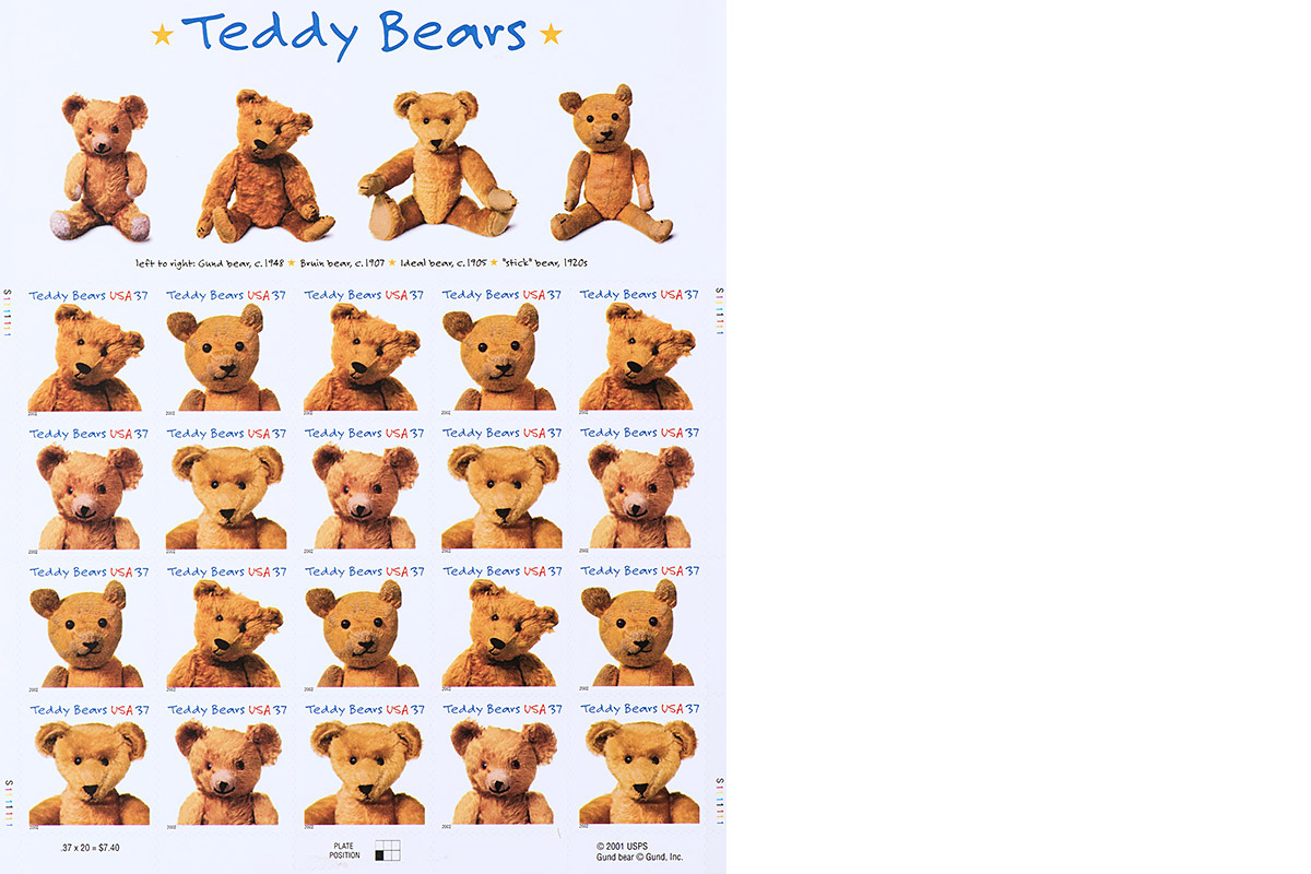 Teddy Bears stamps