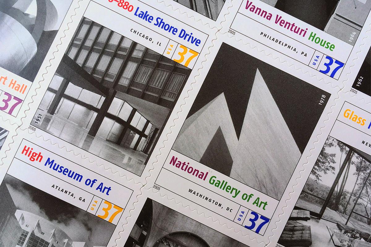 Masterwork of Modern American Architecture detail