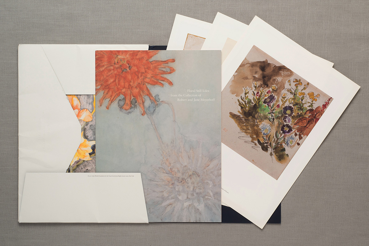 Floral Still Lifes from the Collection of Robert and Jane Meyerhoff, portfolio