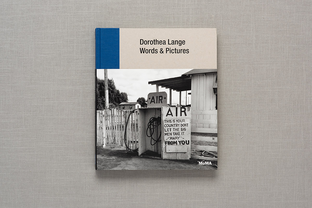 Dorothea Lange: Words & Pictures cover