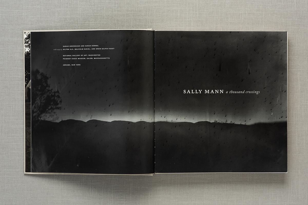 Sally Mann: A Thousand Crossings, spread