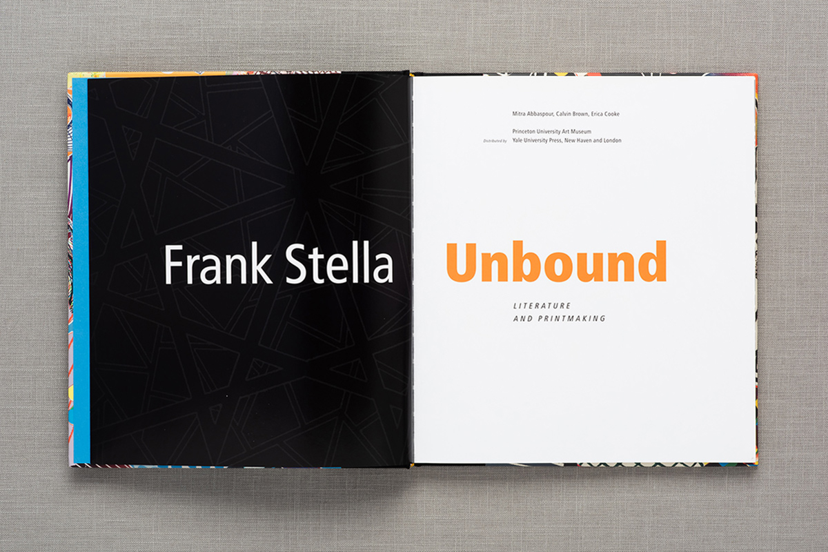 Frank Stella Unbound spread